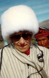 claudette at lake titicaca