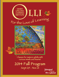OLLI Fall Schedule